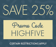 Save with promo code HIGHFIVE